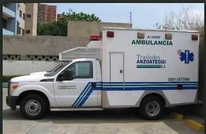Alquiler traslados de pacientes y venta ambulacia