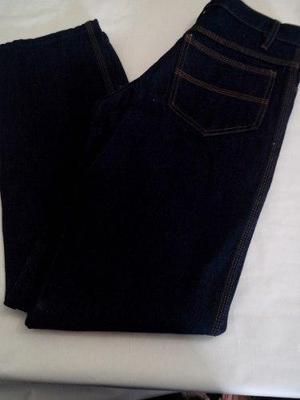 Pantalones industriales triple costura 14oz