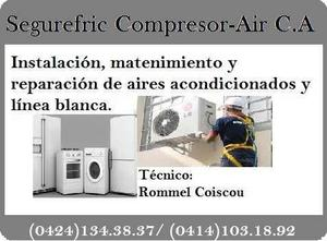 Reparación, instalación y mantenimiento aires