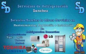 Servicios de refrigeracion sanchez