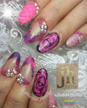 Cursos de uñas acrilicas jh nails