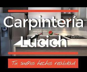 Carpintería en general cocinas, muebles, closet y algo