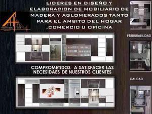 Diseño de muebles, elaboracion y restauracion
