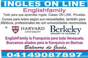 Ingles on line. universidades de usa