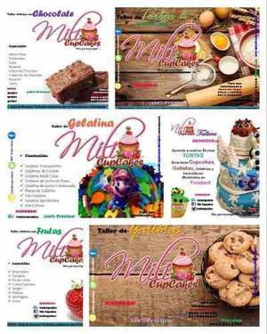 Talleres de repostería, tortas, gelatinas, cupcakes y más!