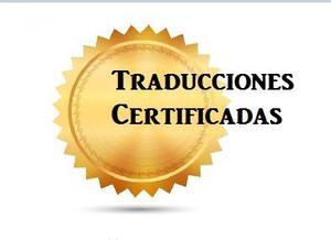 Traducción Certificada (inglés)