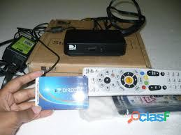 Antena y decodificador directv