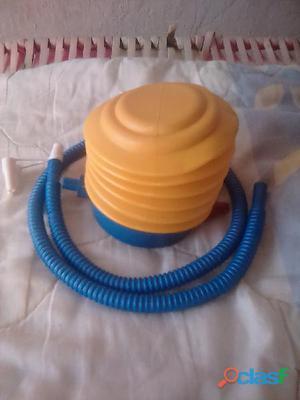 Inflador manual para globos, piscinas, cauchos, etc.