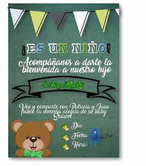 Tarjetas Invitacion Eventos Ofertas Enero Clasf