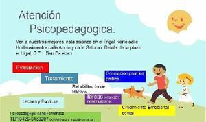 Atención psicopedagogica para niños