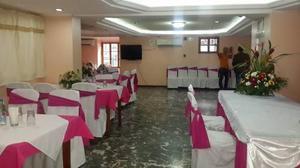 Restaurante ofrece salon para todo tipo de eventos