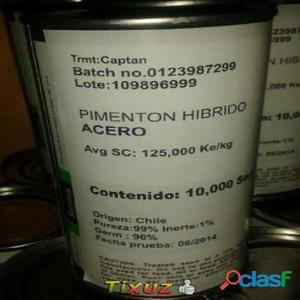 Semilla de pimenton Acero marca Seminis