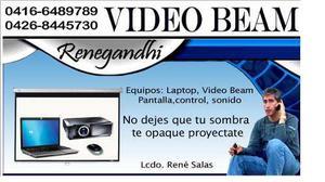 Alquiler video beam para todo tipo de eventos