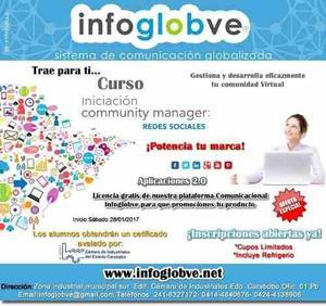 Curso Community Manager, Gestión De Redes Sociales