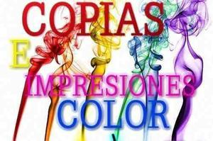 Impresion en laser copias color etiquetas glasse tabloide