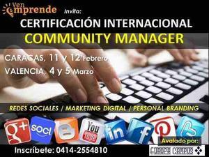 Certificacion Internacional Community Manager