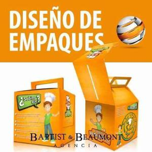 Diseño De Empaques, Estuches, Etiquetas, Packaging
