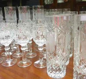 Juego copas cristal bohemia clasf for Copas bohemia