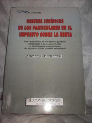Deberes jurídicos de los particulares en el islr (usado)