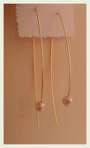 78ac39046dff Elegantes zarcillos largos perla cultivada en Anaco   REBAJAS Junio ...
