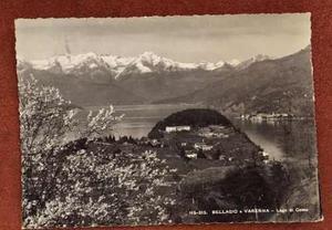 Italia antigua postal lago di como varenna 1939. a