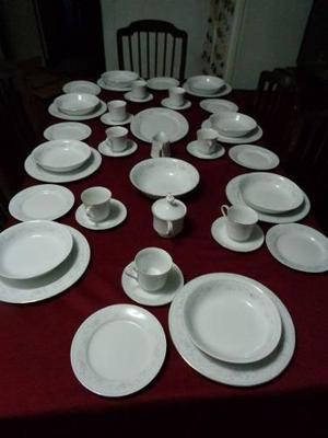 Vajilla china 8 personas clasf - Vajilla de porcelana ...