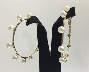 93be7bdf5b5b Zarcillos argollas perlas cristales bisuteria al mayor