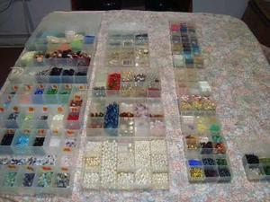 Cajas organizadoras (20 cajas) + bisuteria gran oportunidad