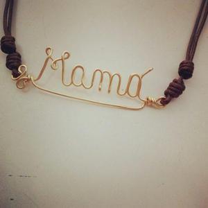 8997f542b951 Collar dijes personalizados nombres en alambrismo en Cumaná ...
