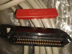 Conectores amphenol hembra de 7.6 mts cable 25 pares