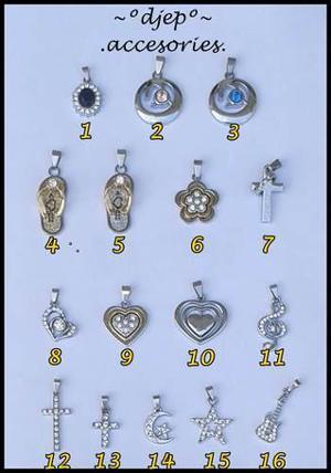 9f5d86b8a4a4 Dijes cadenas chokers variedad bisutería