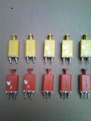 Northern telecom fusible 7a y 5a p/regleta telefonica