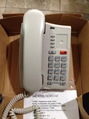 Teléfono central nortel norstar