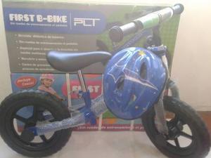 Bicicleta niña/niño rin 12 con casco/sin pedal