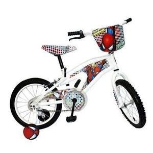 Bicicleta spiderman rin 16