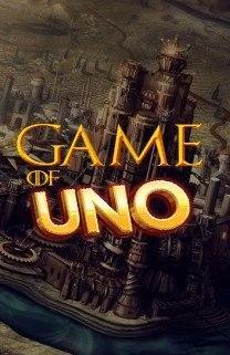 Juego de cartas uno versión juego de tronos (game of uno)