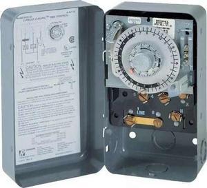 Reloj paragón 220v para cavas cuartos y refrigeración