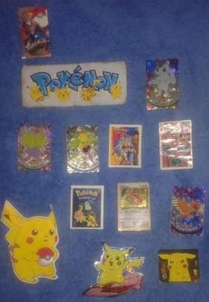 Tattoos calcomanias cartas pokemon