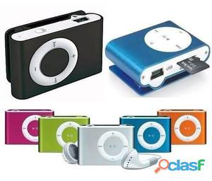 Mini reproductor mp3 chip clip soporta hasta 16 gb micro sd