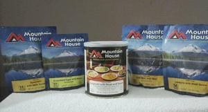 Comidas para montañismo