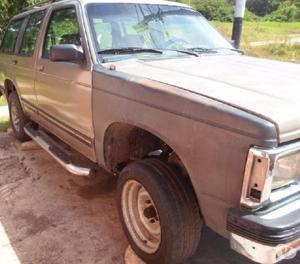 Chevrolet blazer 94, 4x2, automática sin caja, chocada