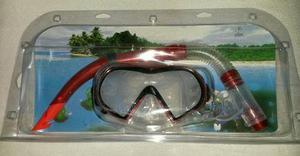 Mascara y snorkel marca easton original importada.
