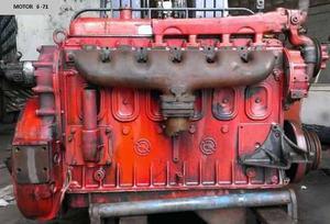 Motor detroit diesel 6