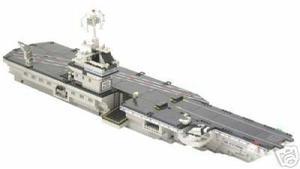 Portaaviones uss kittyhawk lego 1700 piezas mega blocks 9780