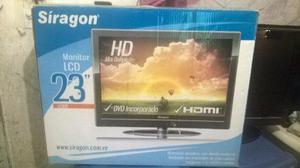 Televisor monitor siragon 23 pulgadas usado