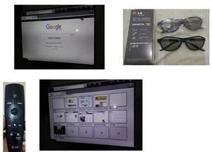 Tv smart 60 3d led, marca lg