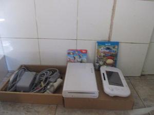 Nintendo wii u, juegos vendo o cambio por telefono alta gama