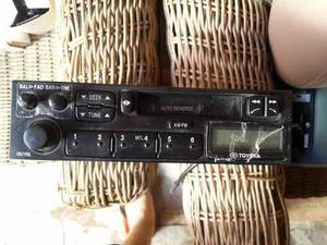 Radio reproductor de casette marca: toyota