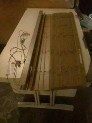 Persianas tipo madera