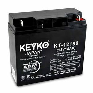 Bateria / pila keyko 12v 18ah ups, lamparas de emergencia